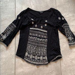 Lucky Brand boho shirt